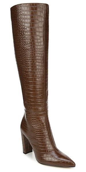 Sam Edelman raakel knee high boot in toasted coconut leather