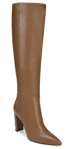 Sam Edelman raakel knee high boot in brown leather