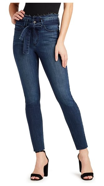 Sam Edelman the stiletto belted ankle skinny jeans in eddie