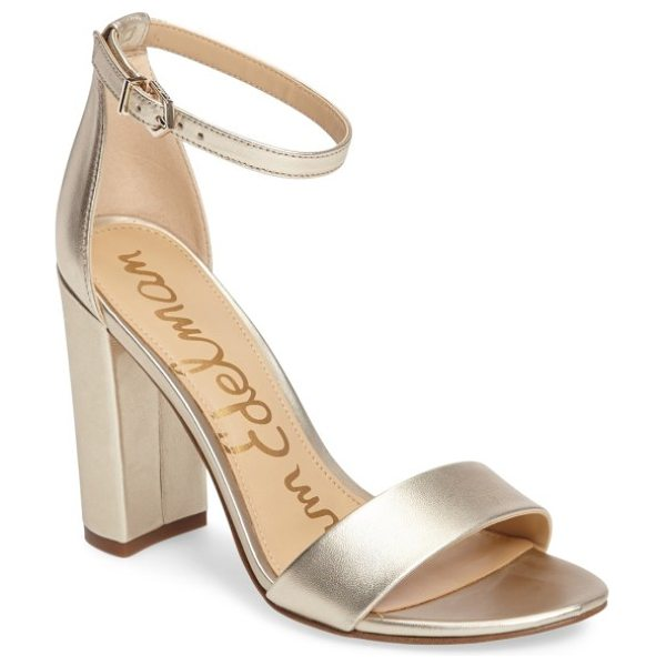Sam Edelman yaro ankle strap sandal in jute leather