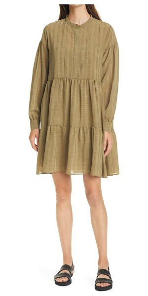Samse Samse sams?e sams?e margo long sleeve shirtdress in air khaki