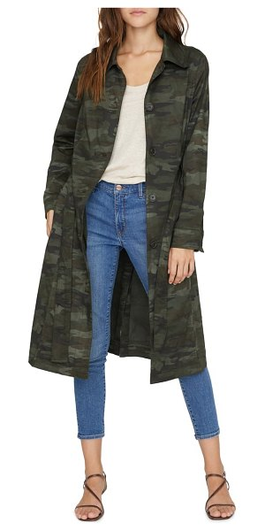 Sanctuary hayden camp trench coat in little hero camo