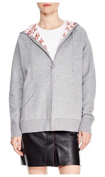 Sandro gwendoline hoodie in grey - The decade may be long gone, but you can rewind to the...