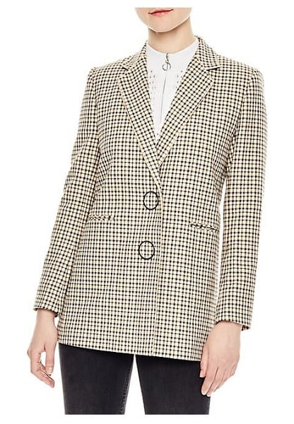 Sandro plaid blazer in multi - From the Saks IT LIST. SUIT YOURSELF. The new suit:...