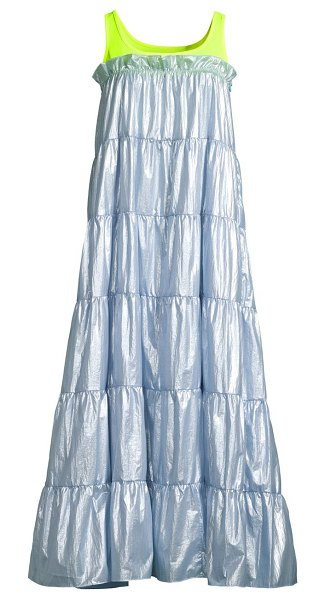 Sandy Liang pianos tank maxi dress in ice blue