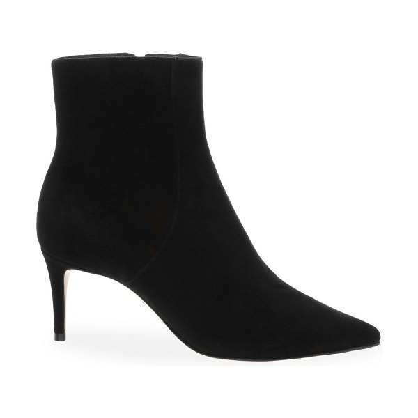 Schutz bette suede ankle boots in black