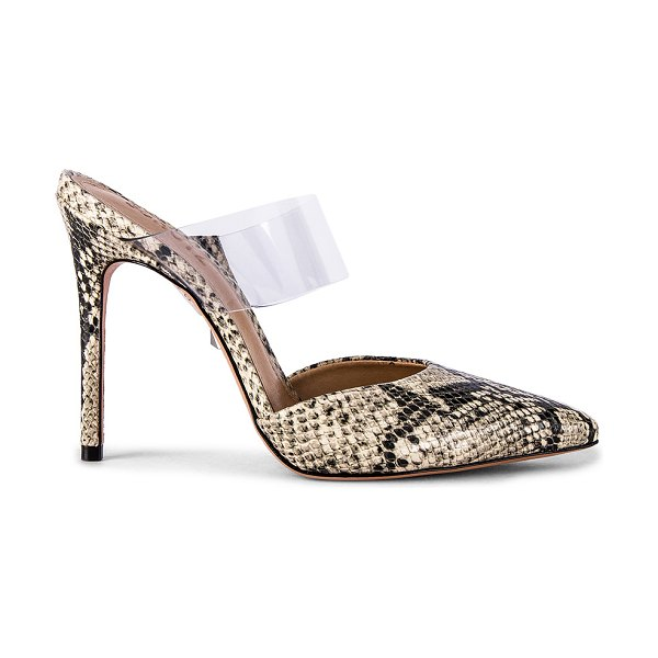 Schutz sionne mule in natural snake