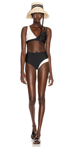 Sebastien alexis swimsuit in black & white