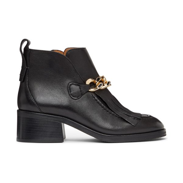 See By Chloe black mahe boots in 999 black
