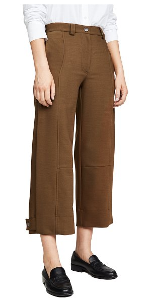 See By Chloe cropped trousers in smoked brown