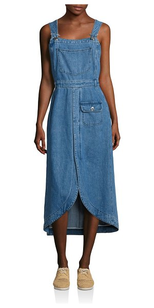 589c687b74d See By Chloe Denim Overall Dress in Blue