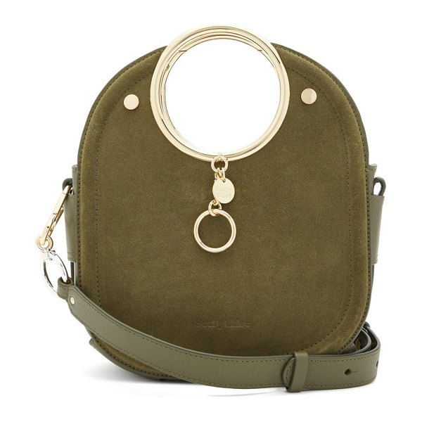 See By Chloe mara suede and leather bag in khaki