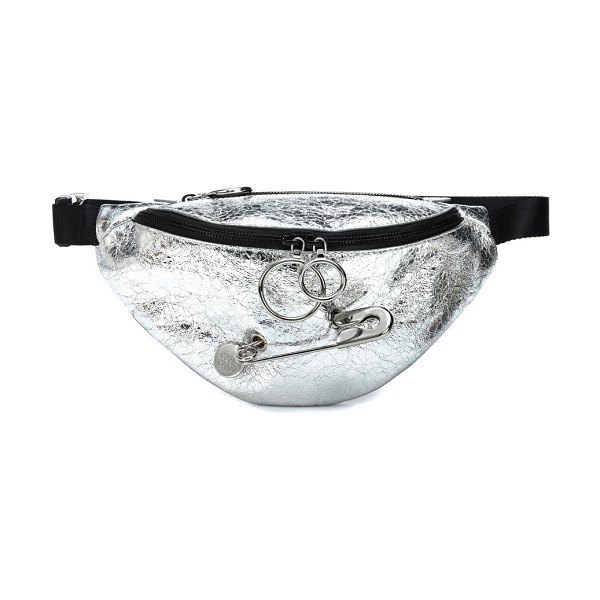 See By Chloe Mindy faux leather belt bag in silver - Level up your sartorial standards this spring with See...