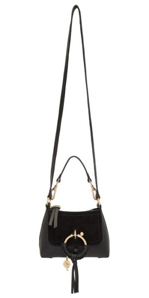 See By Chloe black mini joan bag in 001 black