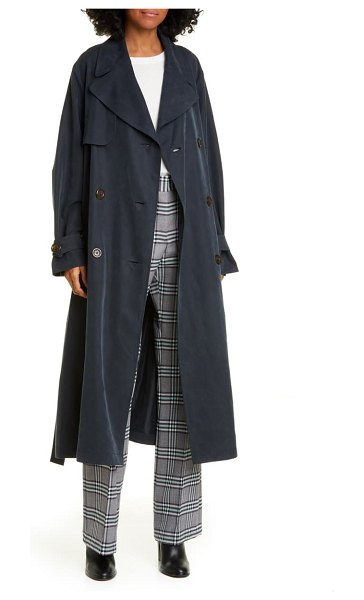 See By Chloe trench coat in ink navy