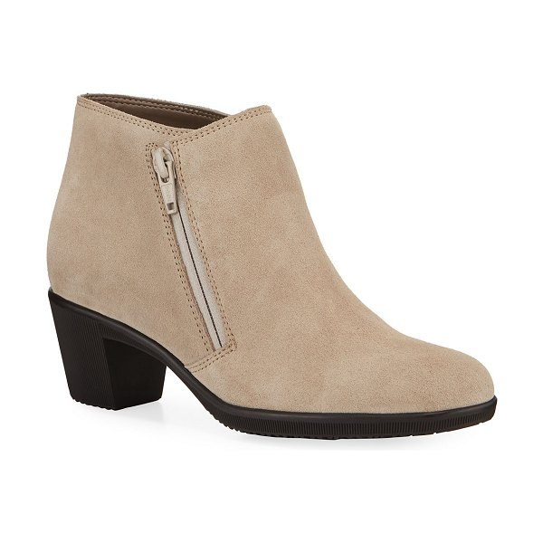 Sesto Meucci Pallas Water-Resistant Ankle Booties in taupe