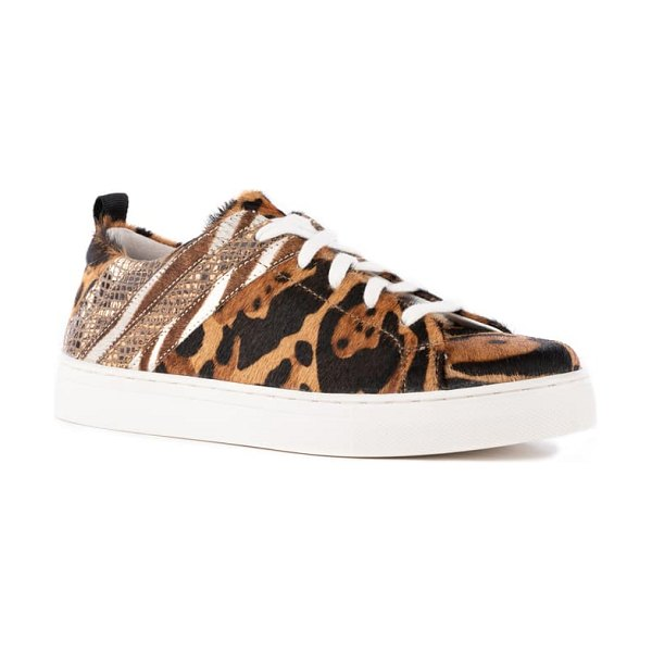 Seychelles stand out sneaker in leopard print leather