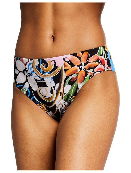 Shan Orchid Printed Bikini Bottoms in orchid