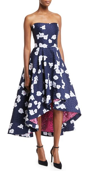 7cf81284ab9 Shoshanna Paladino Floral Brocade High-Low Cocktail Dress