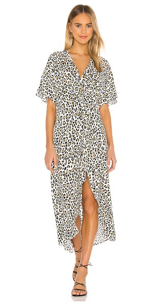 Show Me Your Mumu get twisted maxi dress in wilma wildcat