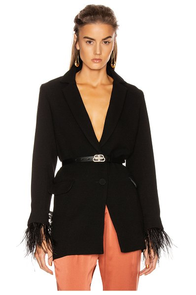 Silvia Tcherassi diorel jacket in black