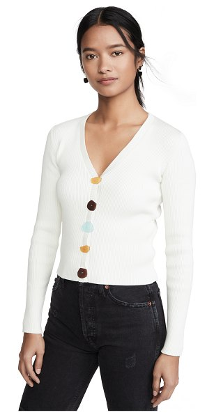 Simon Miller sula cardigan in white