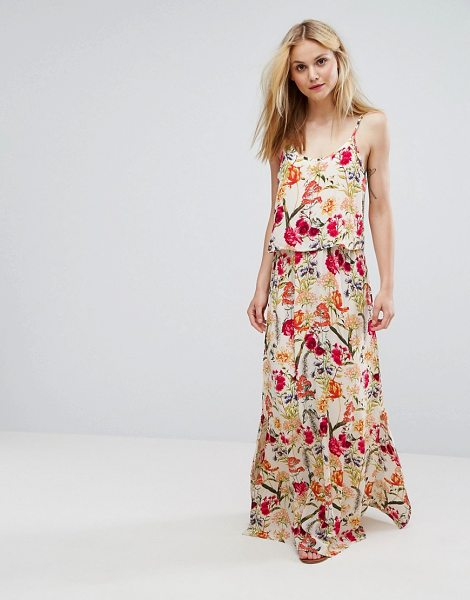 "SOAKED IN LUXURY Soaked In Luxury Floral Cami Maxi Dress - """"Dress by Soaked in Luxury, Woven fabric, Floral print,..."
