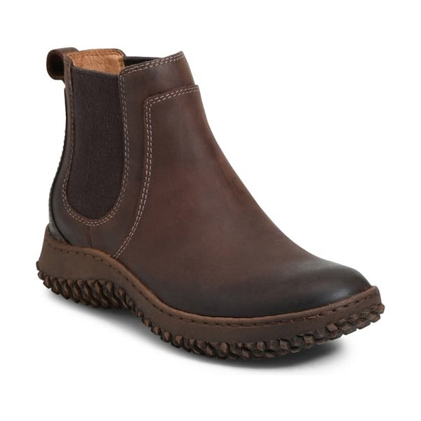 Sofft abry waterproof chelsea boot in sable leather