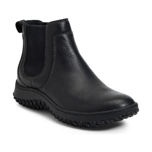 Sofft abry waterproof chelsea boot in black leather