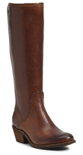 Sofft anniston knee high boot in whiskey leather