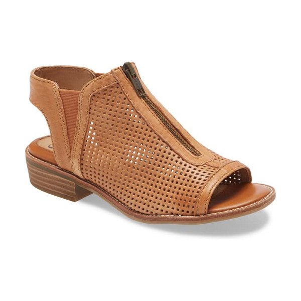 Sofft nalda sandal in luggage leather