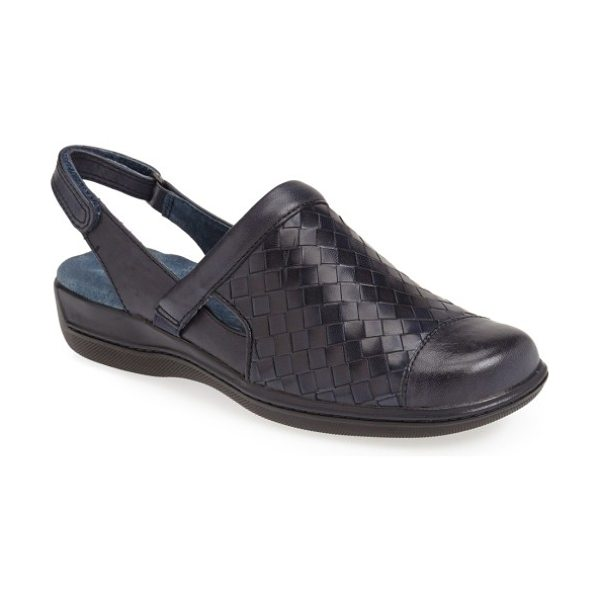 SoftWalk softwalk 'salina' woven clog in navy denim