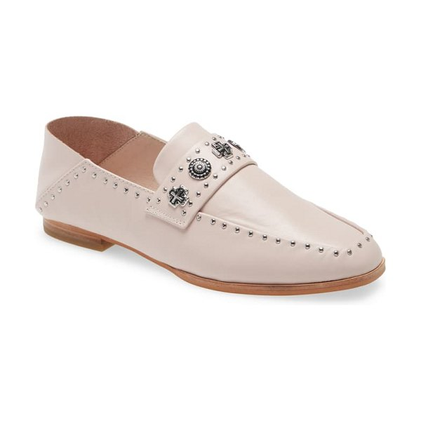 Sol Sana clide convertible loafer in rosewater leather