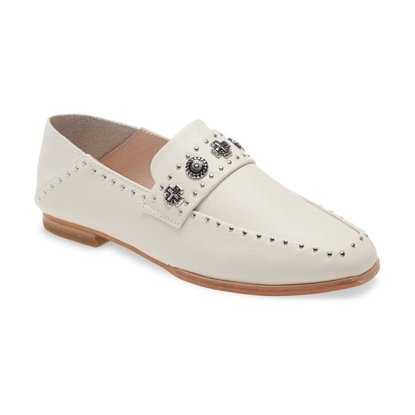 Sol Sana clide convertible loafer in ivory leather