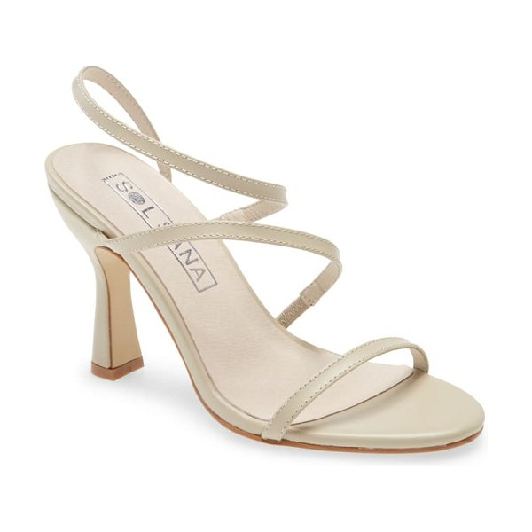 Sol Sana lola strappy sandal in birch leather