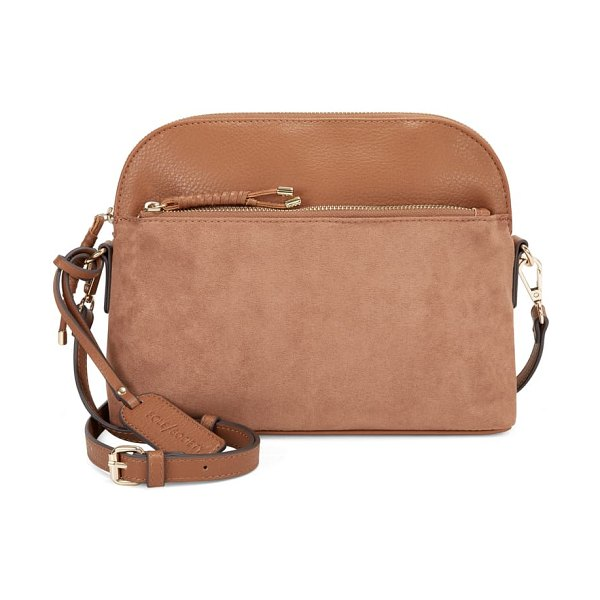 Sole Society orson faux leather crossbody bag in pecan