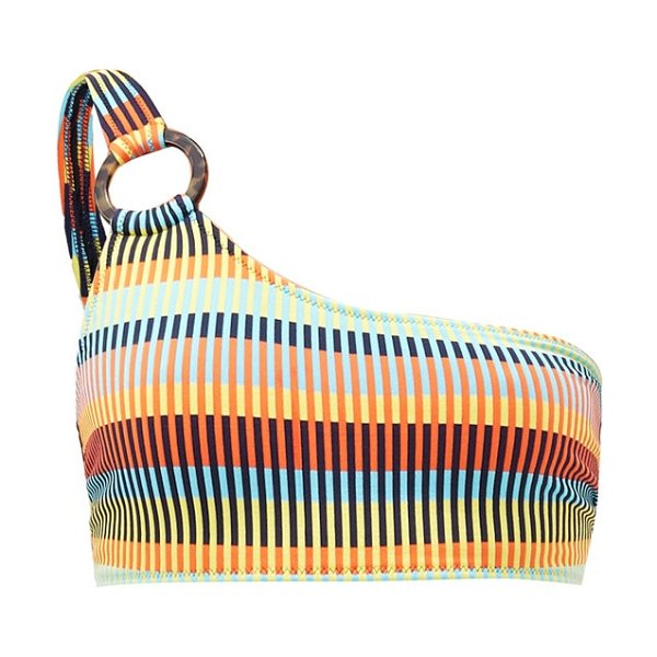 Solid & Striped the desi mosaic-print bikini top in multi
