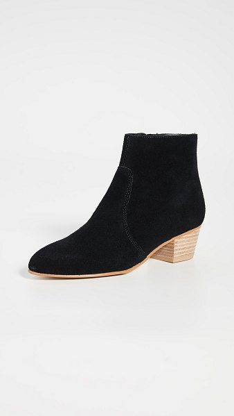 Soludos lola booties in black