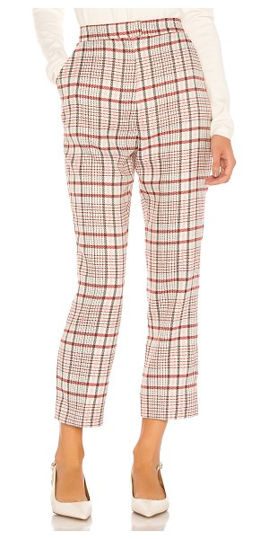 Song of Style opal pant in plaid multi