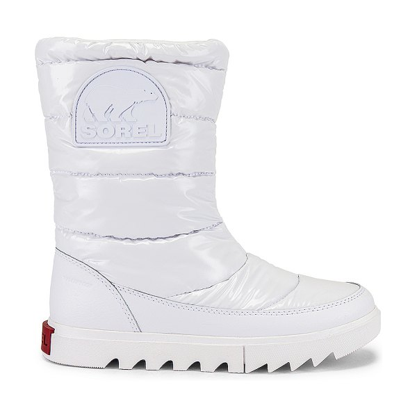 Sorel joan of arctic next lite mid puffy boot in white