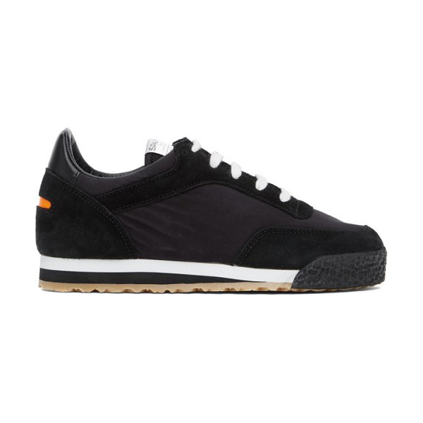 Spalwart pitch low sneakers in black