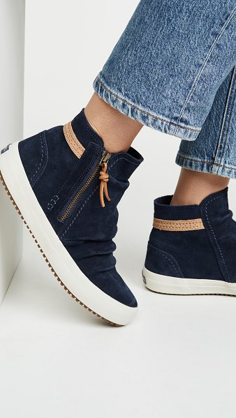 Sperry crest lug zone sneakers in blue
