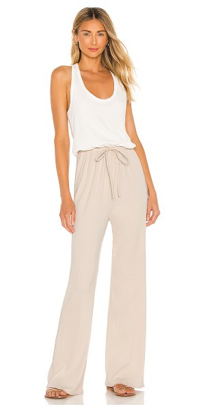Spiritual Gangster juliette jumpsuit in stone