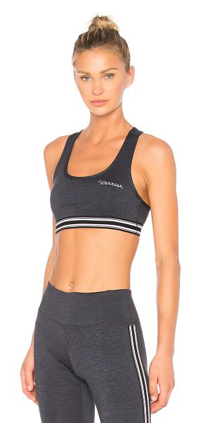 SPIRITUAL GANGSTER Warrior Athletic Bra - 47% poly 46% nylon 7% spandex. Stretch fit. Front...