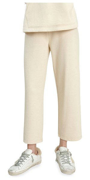 Splendid Cascade Wide-Leg Cropped Pants in lt camel