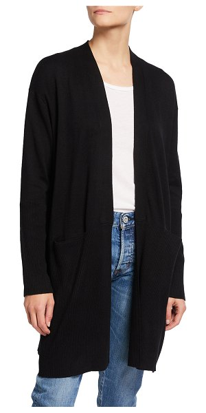 Splendid Mid-Length Cardigan in oatmeal