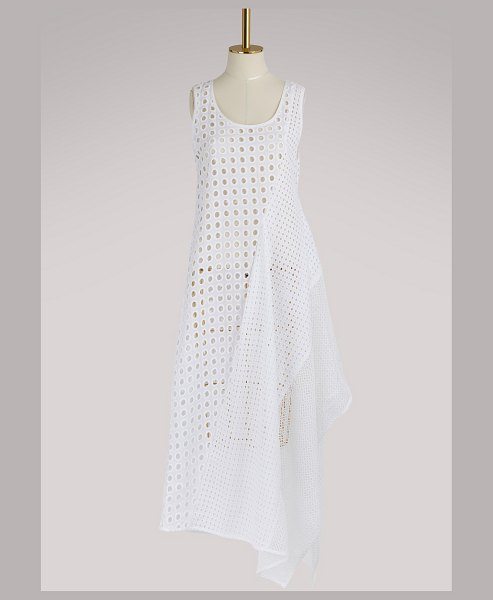 SPORTMAX Abatina dress in white - A retro mood that's right on-trend invites itself into...