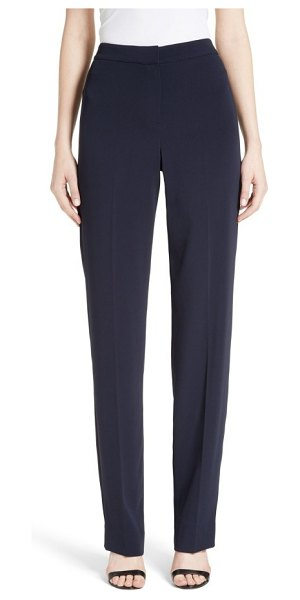 St. John diana classic cady stretch pants in navy