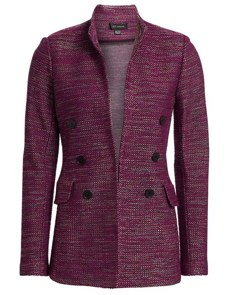 St. John tweed jacket in raspberry