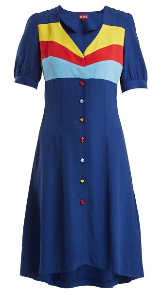Roger crepe dress Staud Outlet Find Great Cheap Find Great Cheapest Outlet Order Buy Cheap Prices Q1eB9VqiA